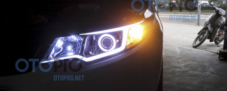 Forte Do Den Bi Xenon Angel Eyes Led Mi Khoi 3