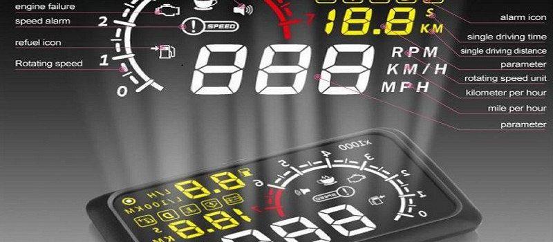 X3 5 5 Car Head Up Display Bluetooth Hud